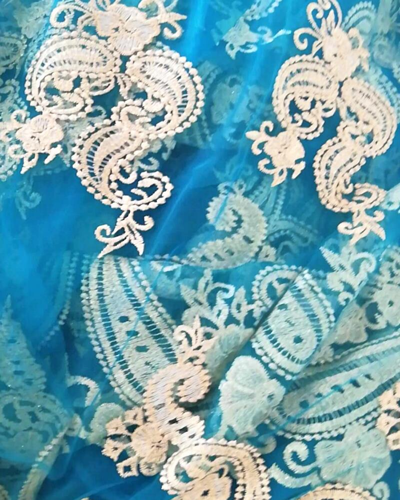 fabric embroider customized