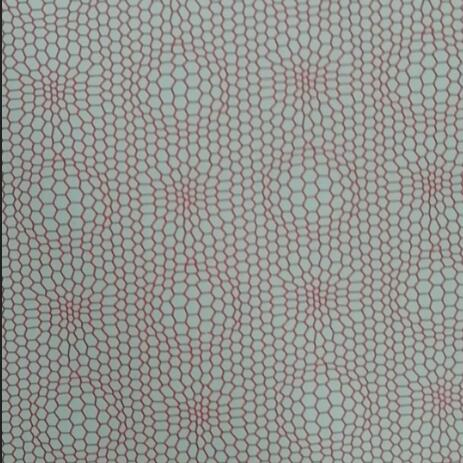 2 layers bonded fabric with colorful membrane