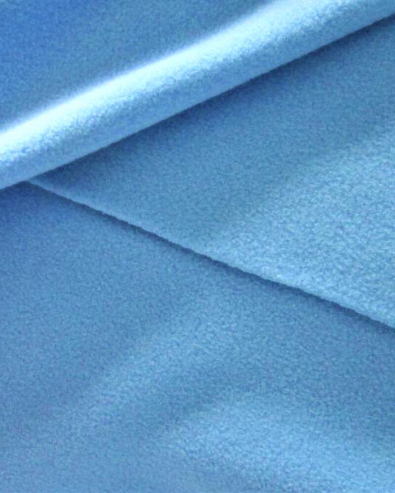 160gsm anti pilling micro polar fleece in solid color