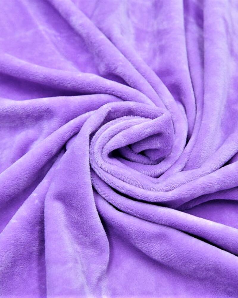 2mm length of brushed velvet for home textile material