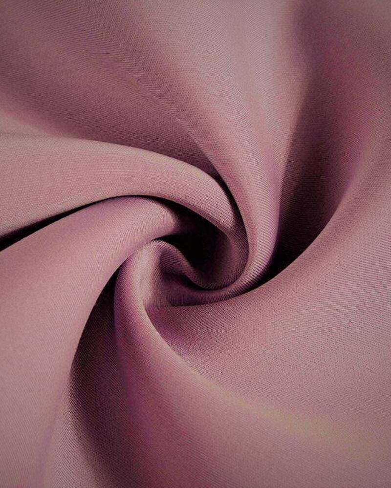poly spandex scuba knit fabric