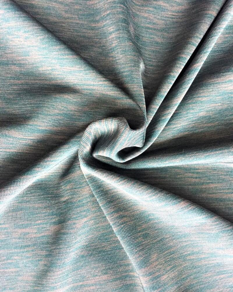 soft combined jersey sports clothing fabric