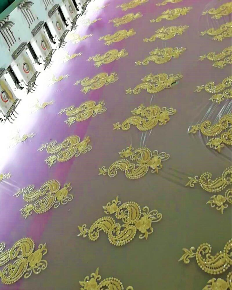 available fabric embroider