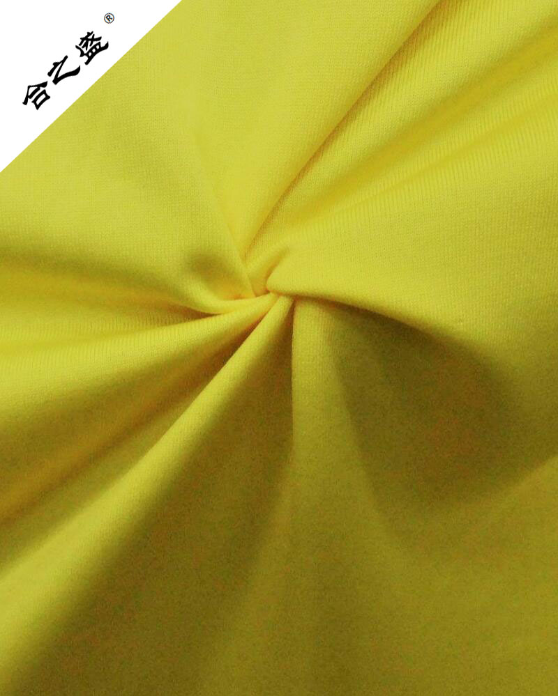 polyester interlock knitting fabric 100gsm