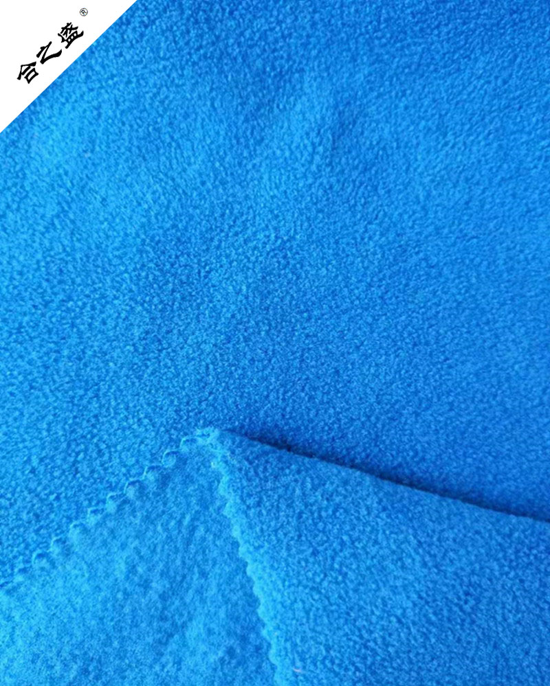 300gsm polar fleece two side brushed one side anti pilling