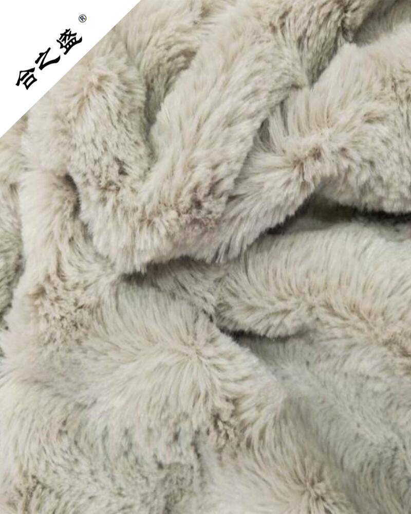 solid PV velvet with long and soft fur
