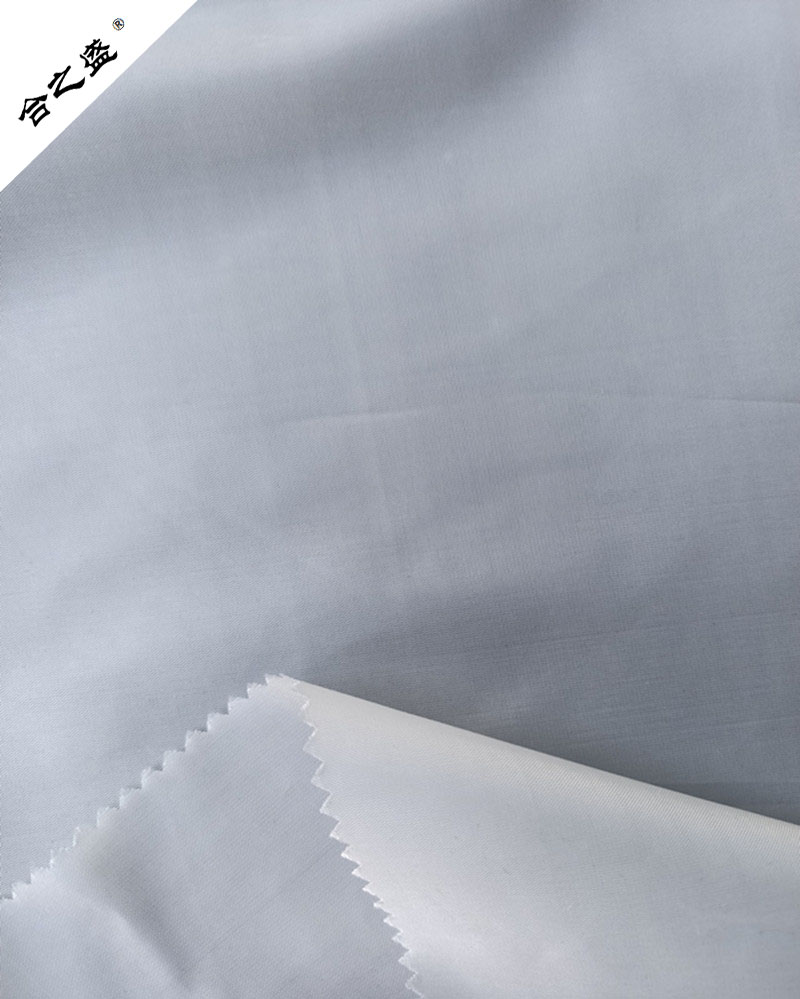 poly interlinning taffeta cherry fabric