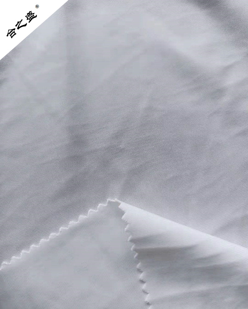 180gsm lycra interlock in white