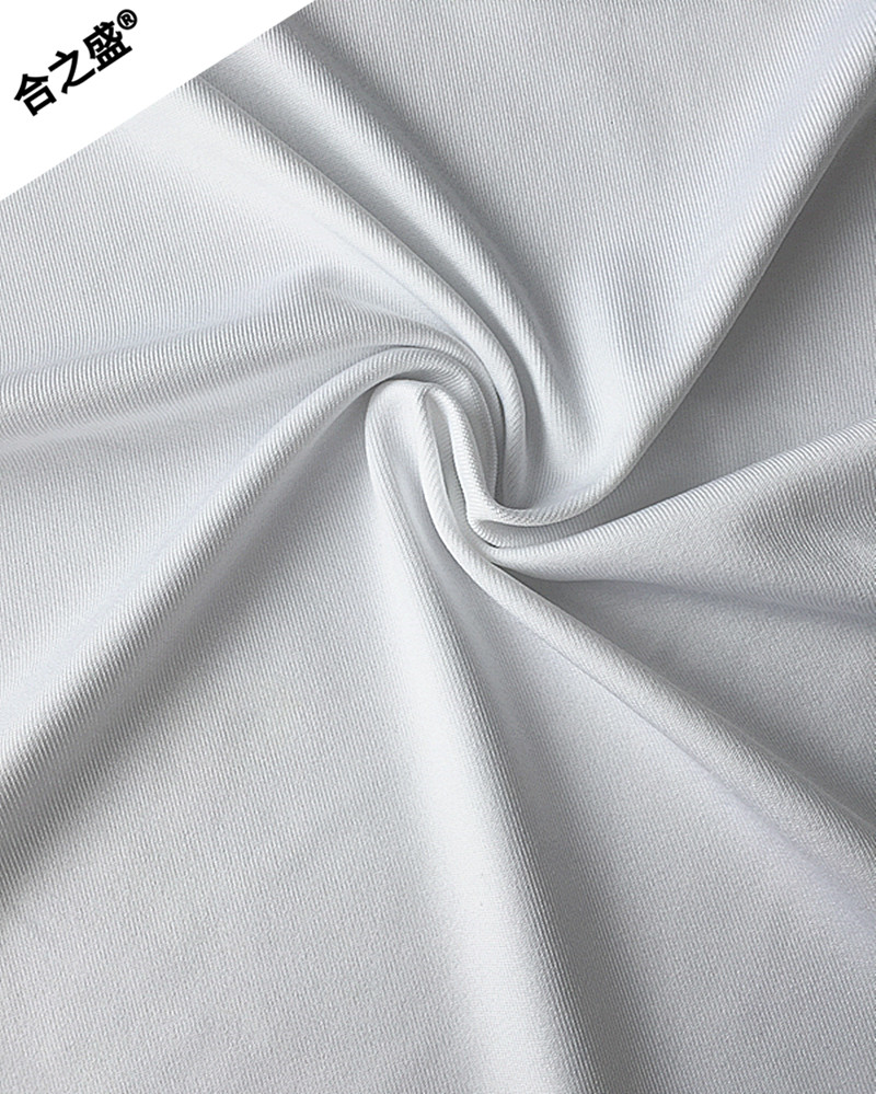 soft feeling of white jersey for sports